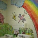 girls preschool bathroom