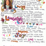 A Look Inside 'I am living loving laughing'